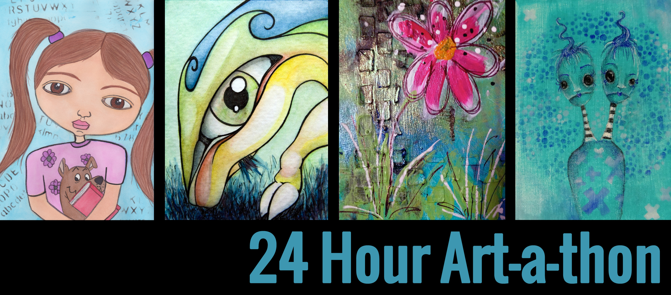 24 Hour Art-a-thon